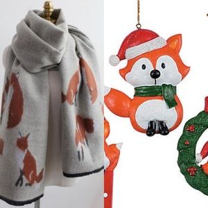 Accessories - Fox Large Blanket Scarf